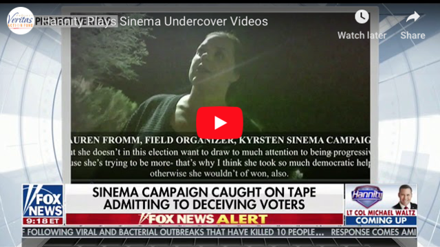 Hannity Plays Sinema Undercover Videos