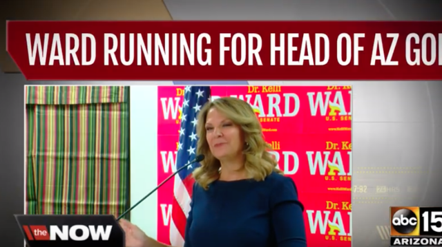 Kelli Ward, 2-time US Senate candidate, seeks top Arizona GOP post