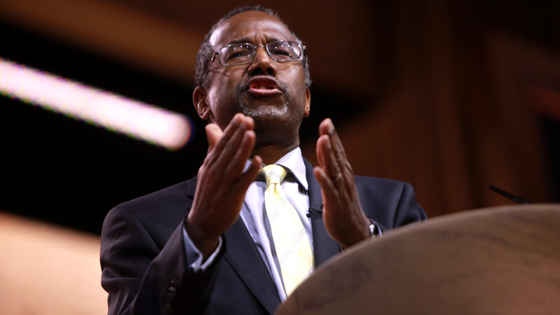 'He is not a racist': Ben Carson says Trump driven by 'kindness and compassion'