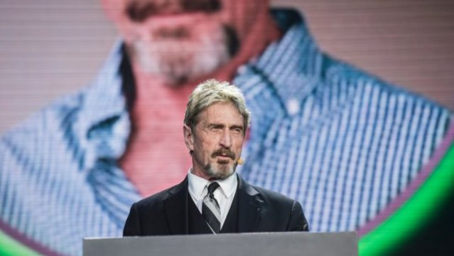 John McAfee's cyber firm to boost bitcoin mining operation with new $2.4m investment