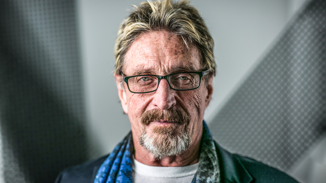 Bitcoin $1 million! Cybersecurity legend John McAfee ramps up NSFW wager