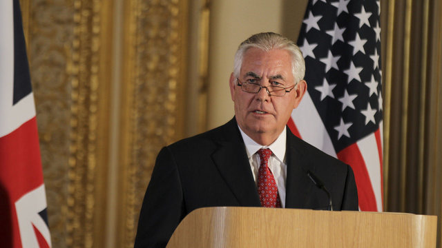 In sudden move, Tillerson out, Pompeo to be new secretary of state