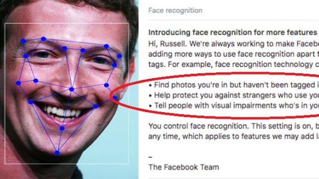 Facebook facing class action suit over facial recognition