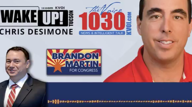 Brandon Martin Makes Another Appearance on Wake Up Tucson