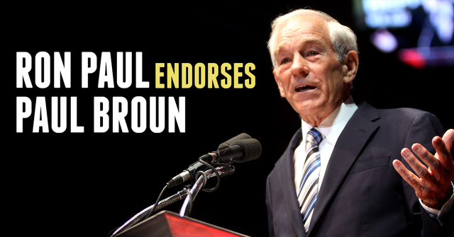 Ron Paul Endorses Paul Broun for Congress