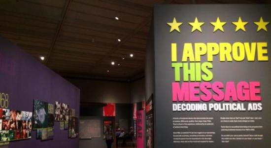 Politics aside, new exhibit shows connection between emotion and votes