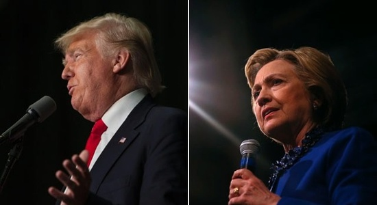 For 1st time, Trump outspending Clinton on TV ads
