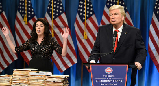 Trump Continues to Be Lucrative for Cable News Networks, and SNL