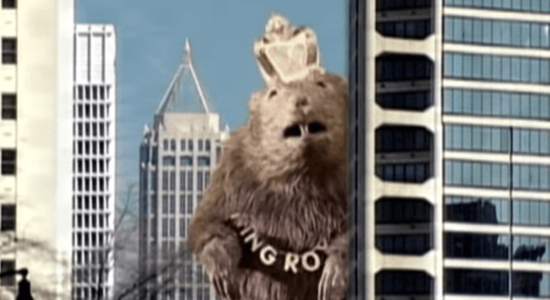 Before YouTube Changed Political Ads, There Was This Giant Rat