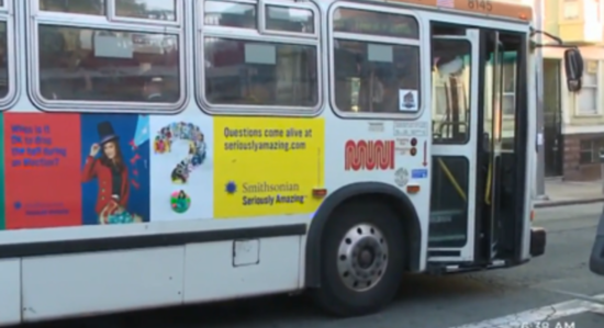 Political ads banned from San Francisco buses, trains, transit stops