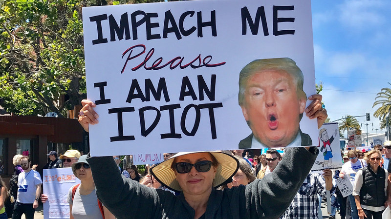 Angry Progressives Run On Impeachment for 2018