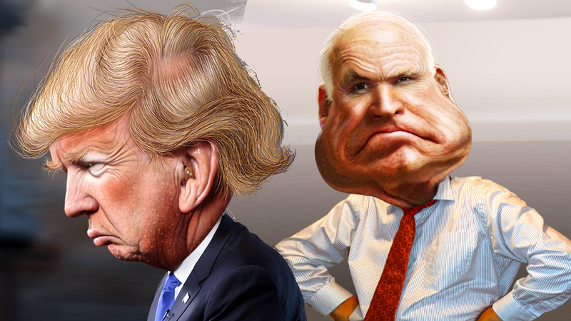Bottom Line: Trump Did What McCain Could Not