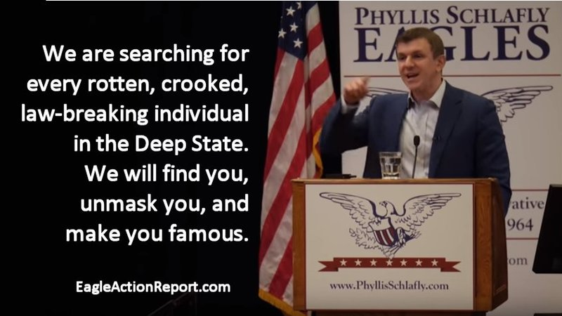 Gateway Eagle Council: James O'Keefe Announces Project Veritas