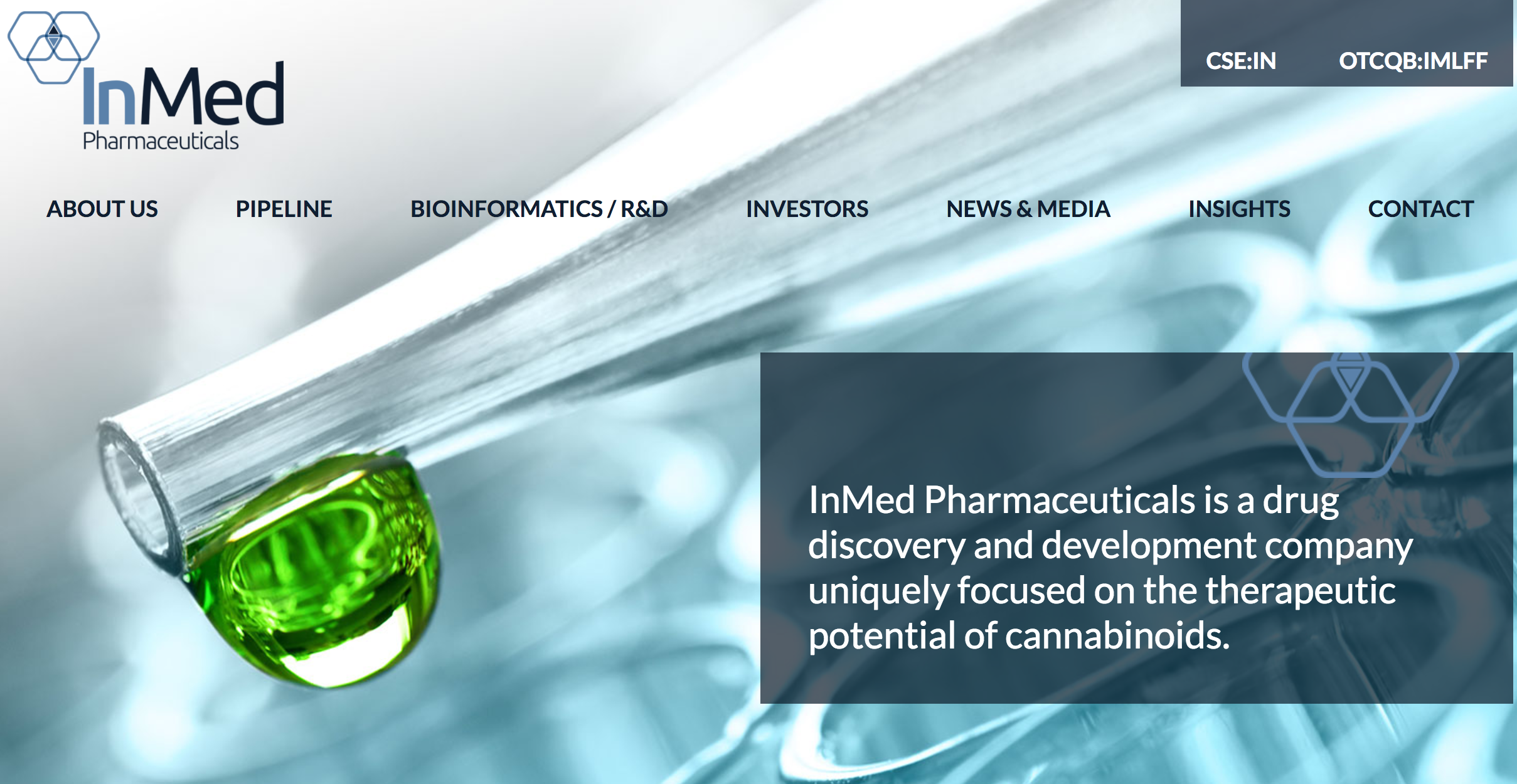INMED (CSE: IN) (OTC: IMLFF) RAISES $5.75 MILLION THROUGH UNDERWRITTEN FINANCING