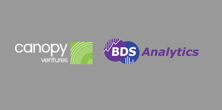 CanopyVentures Makes First Growth Round Investment, Invests $750,000 in BDS Analytics