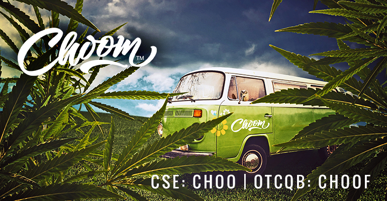 Choom™ (CSE: CHOO) (OTCQB: CHOOF) Receives Cultivation License and Updates Retail Strategy for Canadian Legalization