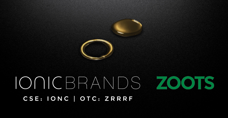 Ionic Brands Enters Edibles Market with Zoots Agreement