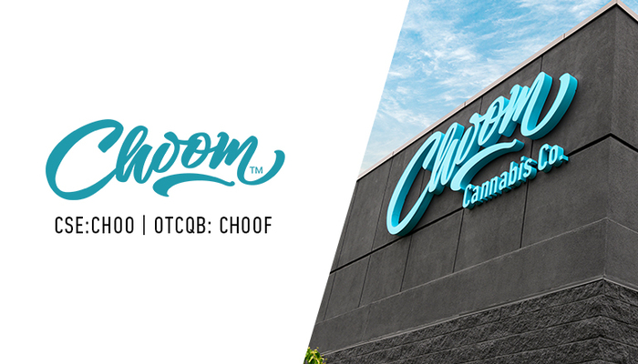 Choom™ (CSE: CHOO; OTCQB: CHOOF)-branded Cannabis Retail Store Licensed to Open in Cold Lake, Alberta