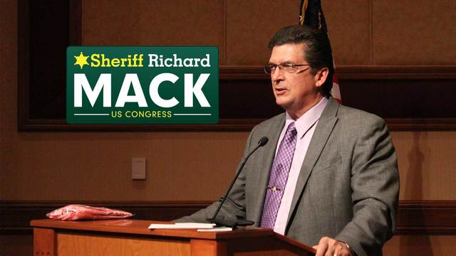 Sheriff Mack leads a crowded field of Republicans in the Arizona Special Election