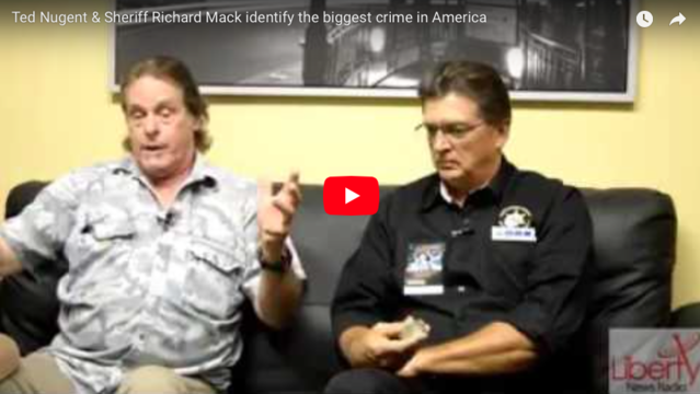 Sheriff Richard Mack sits down with Ted Nugent