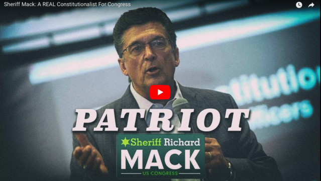 INFO WARS: SHERIFF MACK: A REAL CONSTITUTIONALIST FOR CONGRESS