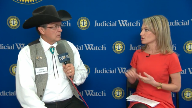 Sheriff Richard Mack Makes an Appearance on Judicial Watch TV