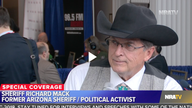 Sheriff Richard Mack makes an appearance on NRAtv to discuss the second amendment