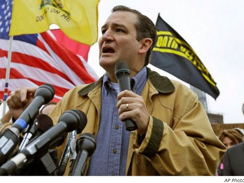 Senator Ted Cruz is the First Ever Winner of the Tea Party Primary
