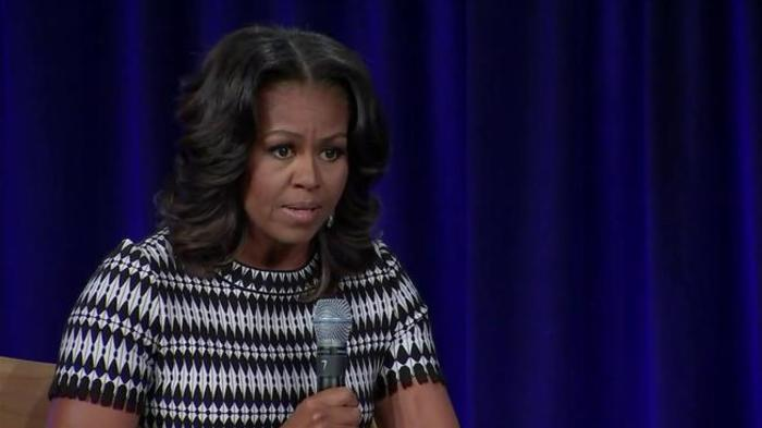 Michelle Obama: My husband was 'the good parent' compared to Trump