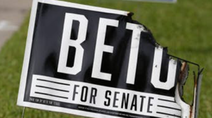 Campaign signs for Beto O'Rourke and Colin Allred set ablaze in Richardson yards
