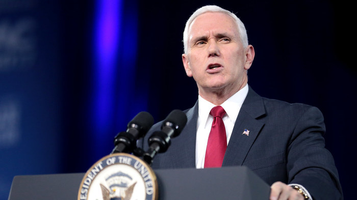 Mike Pence announces Trump administration will fight back against lower court nationwide injuctions