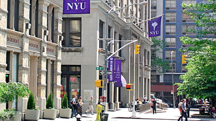 There is absolutely appalling Anti-Semitism at New York University