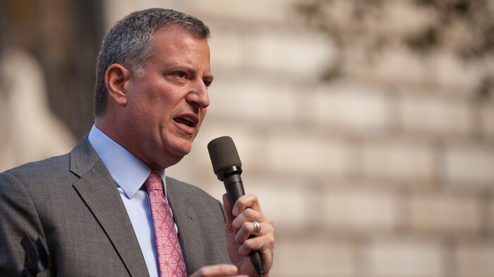 De Blasio Agrees to Cut $1 Billion from NYPD with City Budget Deadline Looming