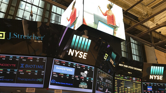 Markets open with big gain as traders return to the NYSE floor and reopening efforts ramp up