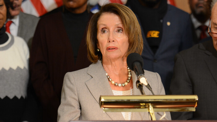 Nancy Pelosi Admits to MSNBC: 'Maybe They Didn't Have Tear Gas'