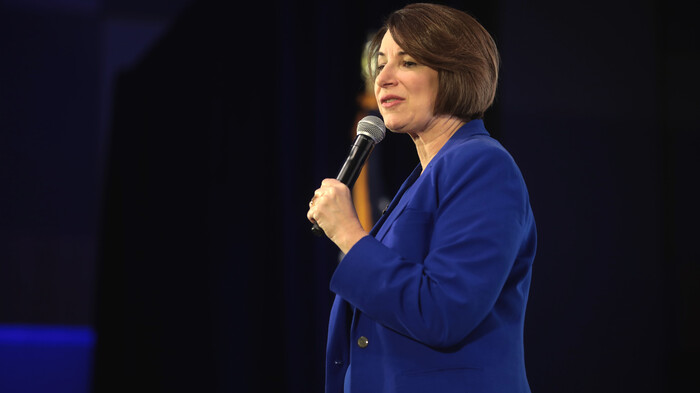 Klobuchar Withdraws from Vice Presidential Consideration