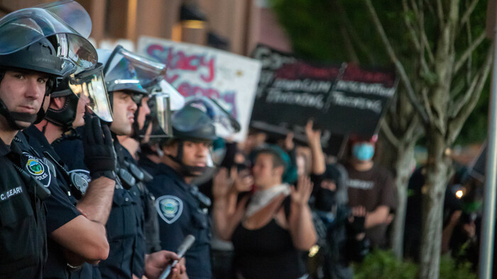 Oregon State Police Pull Out Of Protecting Portland Courthouse After City Refuses To 'Prosecute This Criminal Behavior,' Department Says