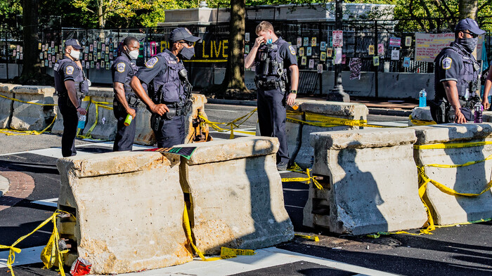 Six Arrested for Assaulting Cops as Disorder Reigns in D.C.