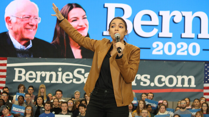 AOC says Dems can 'likely' push Biden in 'more progressive direction' if elected