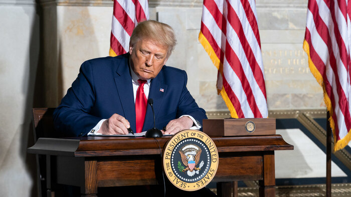 Trump issues executive order to combat discrimination in federal workforce