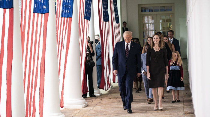 Strong Poll Numbers for Amy Coney Barrett and the Legitimacy of the Supreme Court