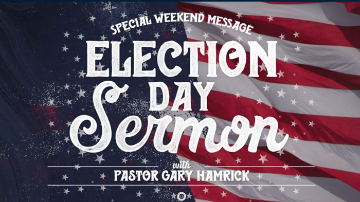 MUST WATCH AND SHARE: Election Day Sermon—Christians called to vote to re-elect Donald J. Trump