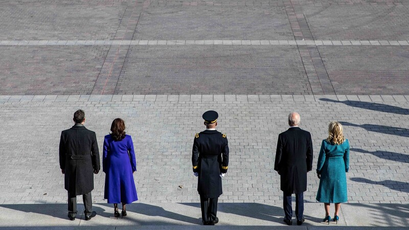 The Empty Inauguration Of Joe Biden