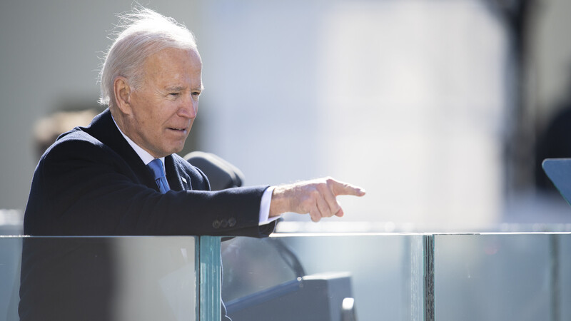 Biden's Already Betrayed His Own Mask Mandate and the Troops