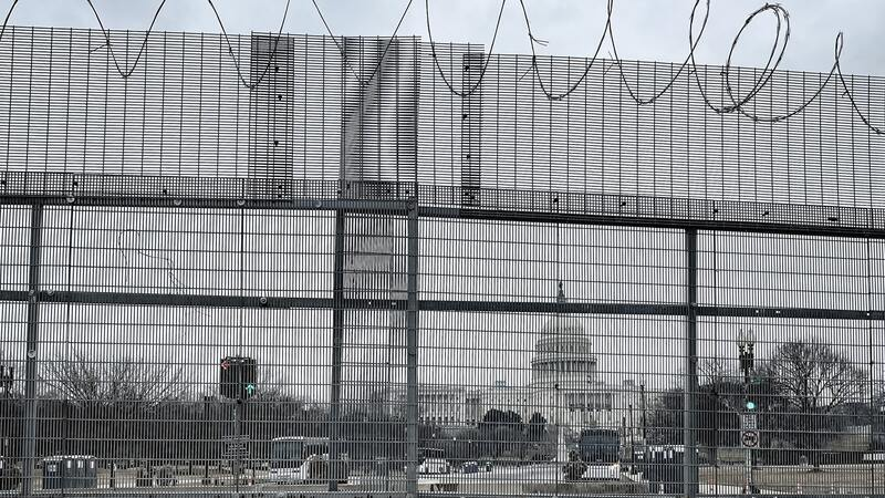 Police remove 'outer perimeter' of Capitol fencing