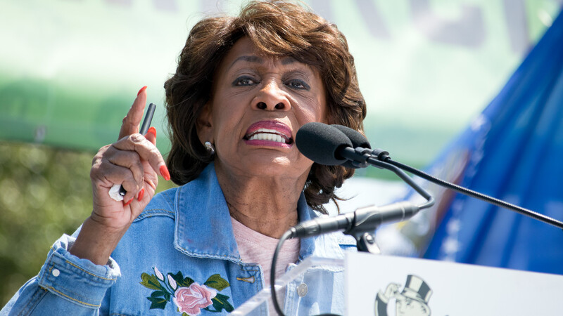 Expel Maxine Waters For Openly Asking BLM to Incite Violence
