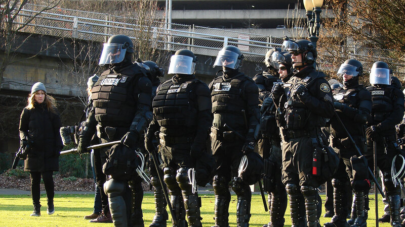 Fifty Portland police officers quit crowd-control unit after colleague indicted in summer riots