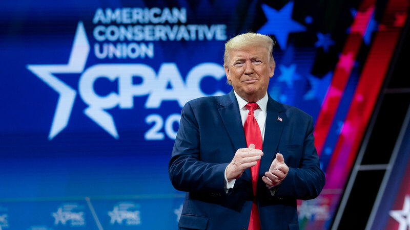 Trump Returns to the CPAC Stage