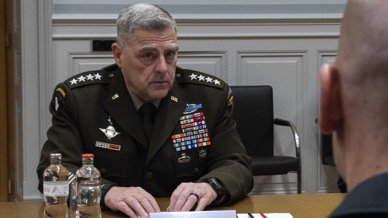 COUP: General Milley Secretly Pledged to Warn Chinese Communist Party if Trump Planned a Strike