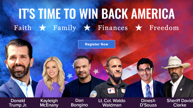 """RELEASE: """"The American Freedom Tour"""" is Launching Nationwide, Featuring Donald Trump, Jr."""
